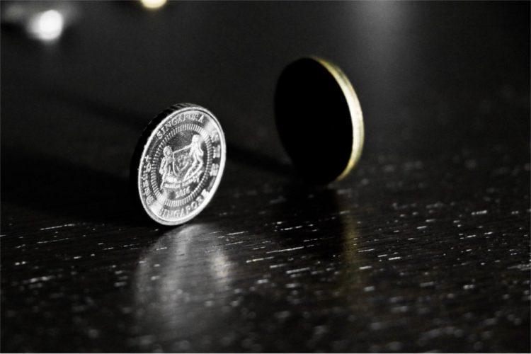Bild einer Münze